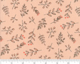 Le Pavot - Sprig Berry Blush Pink by Sandy Gervais from Moda Fabrics