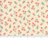 Le Pavot - Small Flowers Toss Cloud Natural by Sandy Gervais from Moda Fabrics