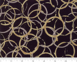 Brew - Rings Espresso Black by Deb Strain from Moda Fabrics