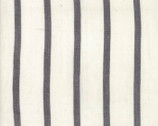 Urban Cottage WOVENS - Stripe Thin Ivory Charcoal Black by Urban Chiks from Moda Fabrics