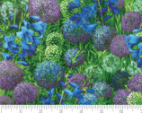 Wildflower IX - Bluebell Blue from Moda Fabrics