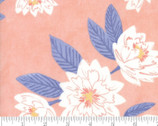 Twilight - Floral Mist Coral Peach by One Canoe Two from Moda Fabrics
