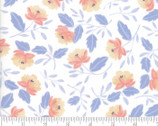 Twilight - Floral Toss Peony Cloud Natural by One Canoe Two from Moda Fabrics