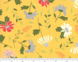 Clover Hollow - Floral Toss Yellow Sunshine by Sherri and Chelsi from Moda Fabrics