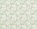 Woodland Rose -  Little Floral Vine Pink by Jera Brandvig from Lecien Fabric