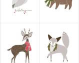 Merriment - PANEL Animals by Gingiber from Moda Fabrics