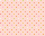 Sweet Tweet and Bunny - Dots Pink from Henry Glass Fabric