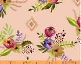 Wanders Weekend - Floral Pink by Sophia Santander from Windham Fabrics