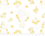 Forever Princess - Belle Toile White by Disney from Camelot Fabrics