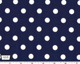 That's It Dot - Navy from Michael Miller Fabric