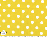 That's It Dot - Starfruit Yellow Mustard from Michael Miller Fabric