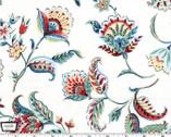 Kashmir Gardens - Arabesque White from Michael Miller Fabric