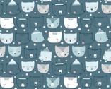 Big Freeze - Cub Club Bears from Dear Stella Fabric