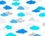 Flight Pattern - On Cloud Nine White from Dear Stella Fabric