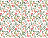 Winter Woods - Bountiful Pear Berry Pine by Sara B from Camelot Fabrics