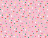 Summerlicious - Hearts Allover Pink by Lucie Crovatto from Studio E Fabrics