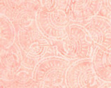 Tonga Batik Buttercream - Fan Shell Soft Pink from Timeless Treasures Fabrics