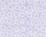 Tonga Batik Buttercream - Circle Lilac from Timeless Treasures Fabrics