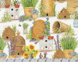 Everyday Favorites - Bee HIve Garden Honey by Mary Lake - Thompson from Robert Kaufman Fabric
