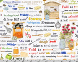 Everyday Favorites - Honey Words Honey by Mary Lake - Thompson from Robert Kaufman Fabric
