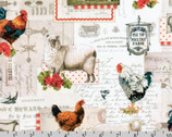 Down On The Farm - Scenic Collage Country by Gwen Babbitt from Robert Kaufman Fabric