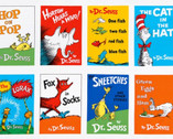 Celebrate Seuss - Books Adventure PANEL by Dr. Seuss from Robert Kaufman Fabric