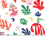 Lola Dutch - Loves Matisse Cherry by Sarah Jane from Michael Miller Fabrics