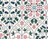 Orchard Garden - Garden Gate Cream from Liberty London Fabrics