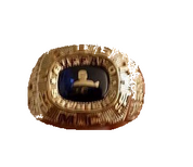 Buffalo Soldiers Gold Ring