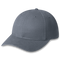Charcoal Heavyweight Brushed Cotton Drill Cap