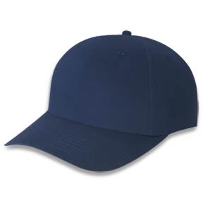 Midnight Blue 5D740M Brushed Cotton Drill Cap | Hatsandcaps.ca