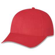 Red Youth Polycotton Cap