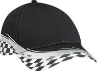 Black Grand Prix Flare Cap