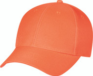 Fluorescent Polyester Constructed Contour Cap