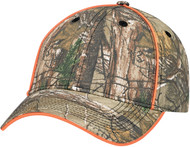 Poly/Cotton Camouflage Constructed Full-Fit Cap
