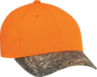 Realtree Polycotton/Polyester Camouflage Constructed Contour Cap