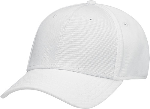White Youth A-CLASS/FLEX Deluxe Polyester Constructed Contour Cap