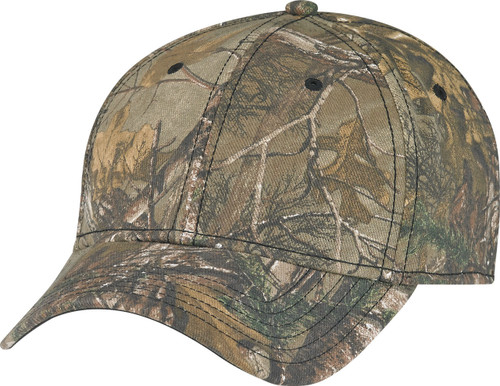 Realtree XTRA A-CLASS/FLEX Cotton Drill & Spandex Camouflage Constructed Contour Cap