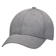 Charcoal - 4J630M Polyester Heather & Spandex | Hats&Caps.ca