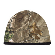 6Q038M Printed Polyester Micro Fleece / Acrylic -Realtree - APS® :: XTRA® Toque Realtree Xtra/Black