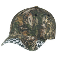 6Y303M Enzyme Washed Deluxe Chino Twill / Brushed Polycotton Realtree XTRA® Cap Realtree/Racing