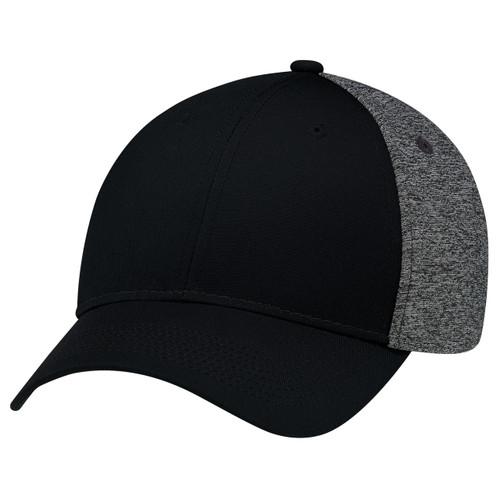 Black/Black - 5K867M Polycotton / Polyester Marl & Spandex