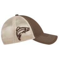 Trout - 6H877M 6 Panel Constructed Full-Fit (Wildlife, Mesh Back)