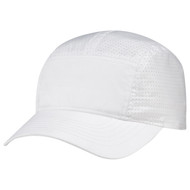 White - B940M Polyester Rip Stop / Polyester Rip Stop Mesh Cap | Hatsandcaps.ca