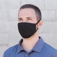 Black - MK0001 Face Mask   HatsandCaps.ca