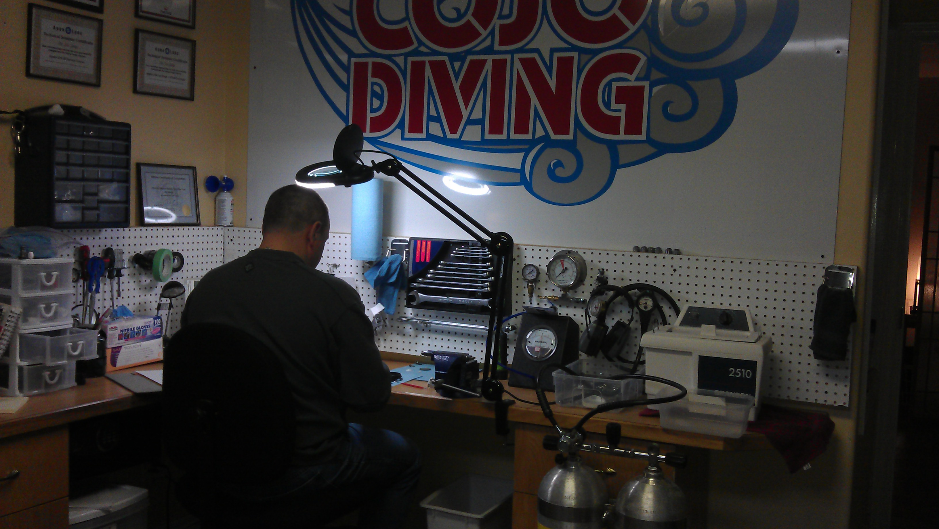 COJO Diving Service and Repair Center