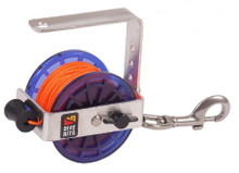 REEL - SAFETY 140' #24 LINE - BLUE
