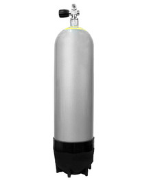 Faber Steel Cylinder - 100 CF 3442PSI - Silver Paint