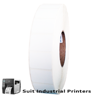40mm X 28mm Direct Thermal Labels LD71024 -To suit Industrial Printers- from Barcodes.com.au