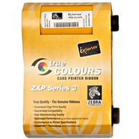 Zebra ZXP Series 3 Mono Print Black Ribbon from barcodes.com.au